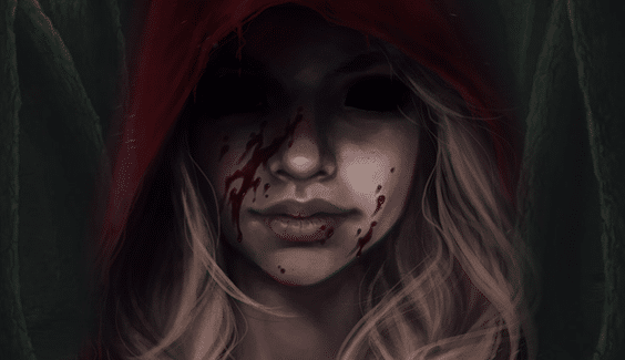 creepy-red-riding-hood