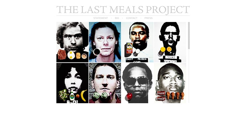 Last Meals Project